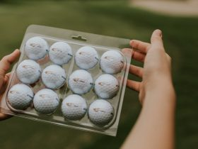 golf ball packaging - 12 balls