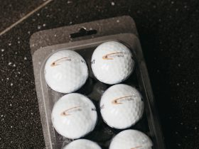 golf ball packaging - 6 balls