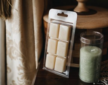 Wax and candle packaging