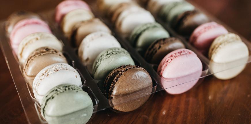 Macaron tray